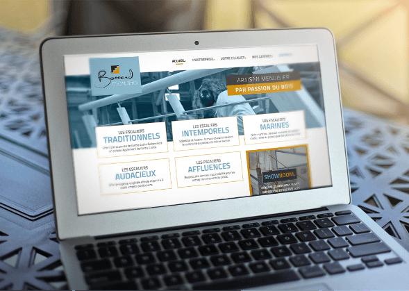 Site internet Les Escaliers Bossard