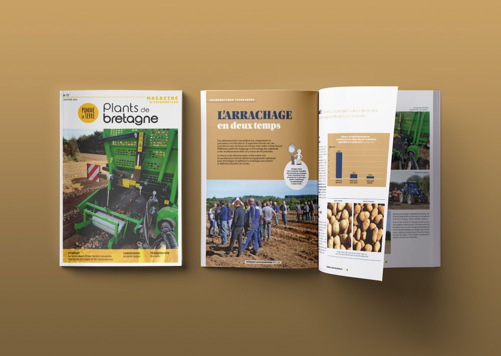 magazine interne Bretagne Plants numéro 57