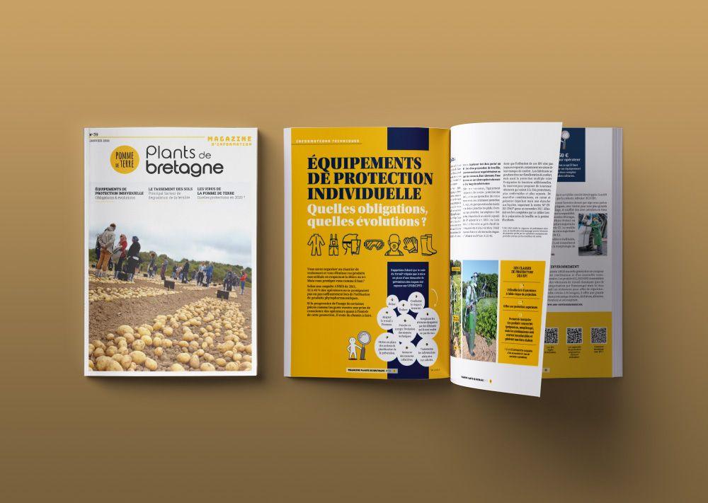 magazine interne Bretagne Plants numéro 59