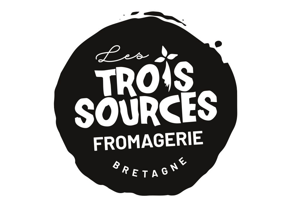 logo Les trois sources Fromagerie Bretagne